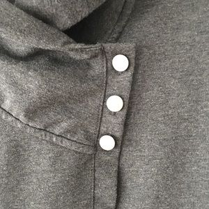Danskin Tops - Danskin Athleisure Gray Cardigan Sweatshirt